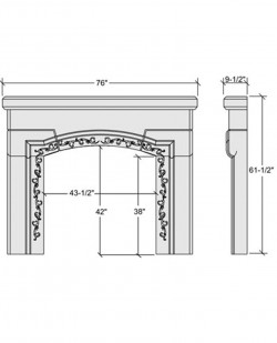 calla mantel design