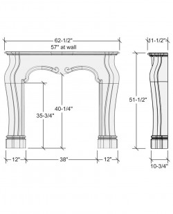 charles mantel design