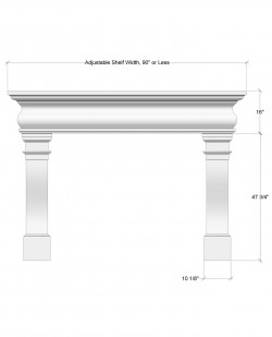 city mantel design