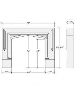 london mantel design