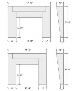 slantedmanteldesign