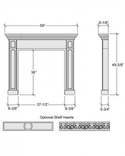 the great mantel design