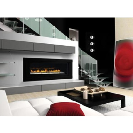 LHD50N2 2 Sided Linear Fireplace - Propane Gas