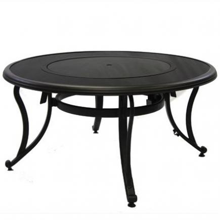 black glass   fire pit table 3