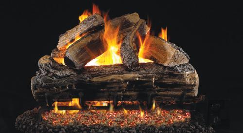 """18"""" Split Oak Gas Log"""