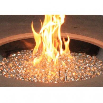 san juan fire pit table crystal fire round burner 2