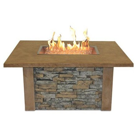 Sierra Fire Pit Table with CF 1224 Burner
