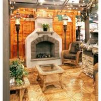 Sonoma Gas Fireplace LP - Grey
