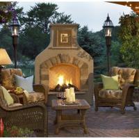 Sonoma Gas Fireplace - Tan