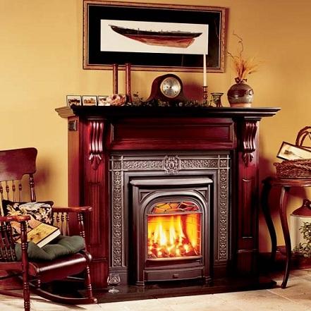 Buy Gas Fireplaces Online Portrait President San Francisco Bay Area CA