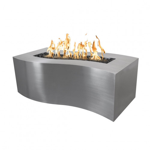 """BILLOW FIRE PITS 60"""" - STAINLESS STEEL"""