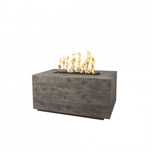 CATALINA WOOD GRAIN FIRE PIT - 96""