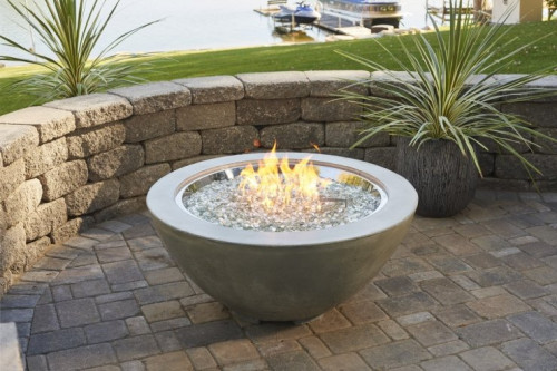 "Cove 30"" Gas Fire Pit Bowl"