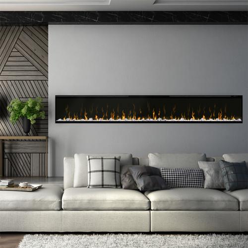 """IgniteXL 100"""" Linear Electric Fireplace"""