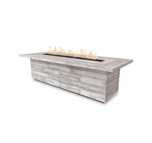 "Laguna Wood Grain Fire Table 120"""