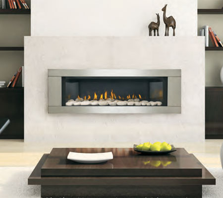 Buy Gas Fireplaces Online LHD45 Modern San Francisco Bay Area CA The F