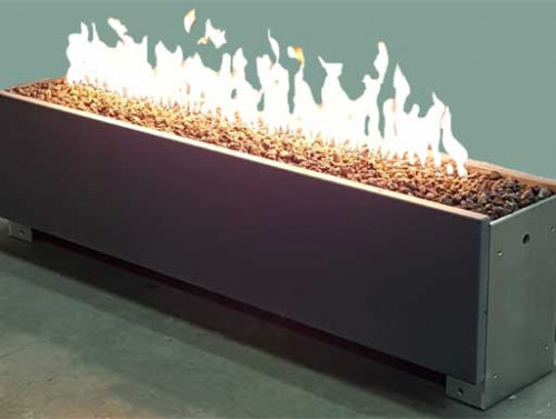Linear Single Fire Pits