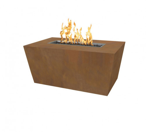 "Mesa 48"" Fire Pit - Hammered Copper"