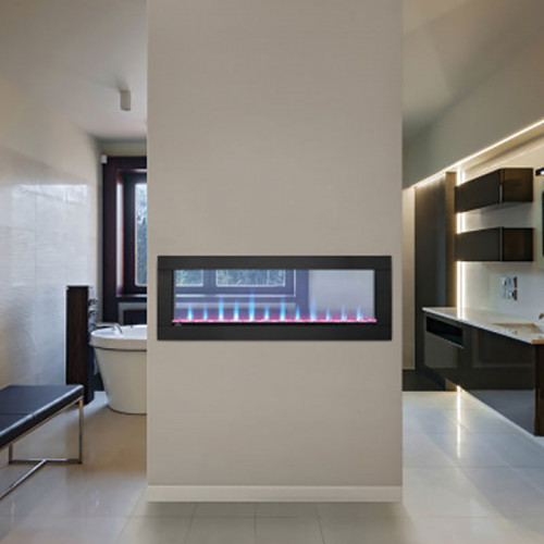 Clearion Linear See Through Electric Fireplace