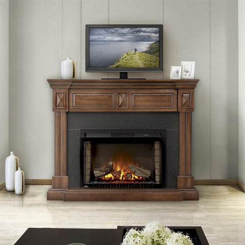 The Braxton Electric Fireplace
