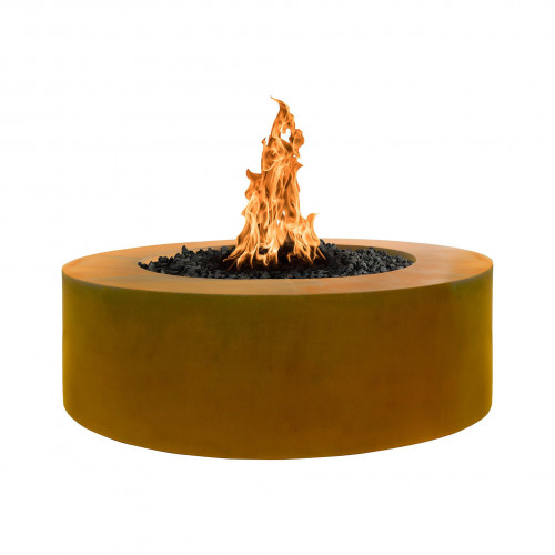 "UNITY FIRE PIT 60"" - 24"" TALL - HAMMERED COPPER"