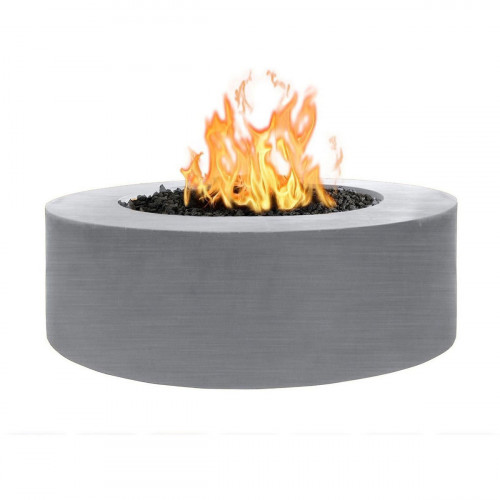 """UNITY FIRE PIT 72"""" - 24"""" TALL - STAINLESS STEEL"""