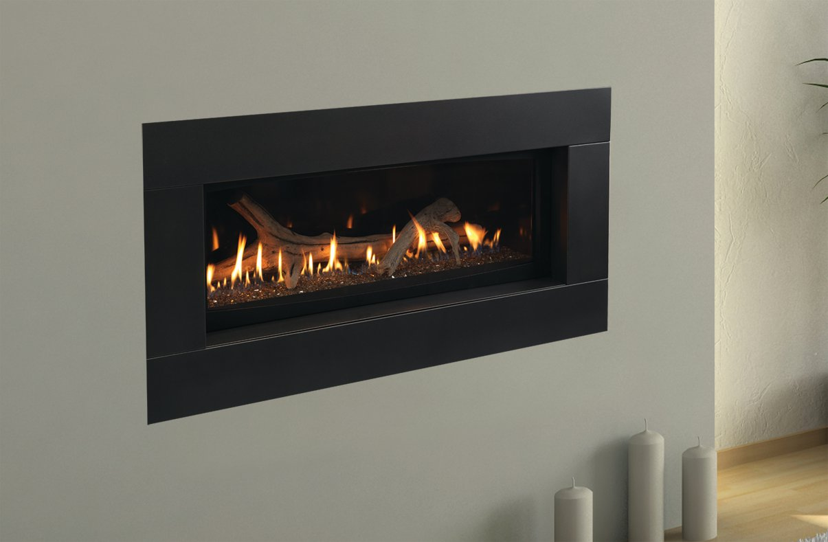 city new linear en gas view series fireplaces fireplace york regency products a designer