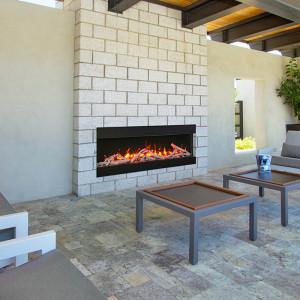 50-TRU-VIEW-SLIM – 3 Sided Electric Fireplace