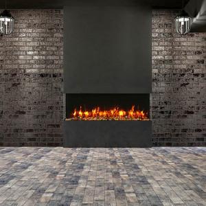 60-TRU-VIEW-SLIM – 3 Sided Electric Fireplace