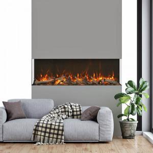 72-TRU-VIEW-XL XT – 3 Sided Electric Fireplace