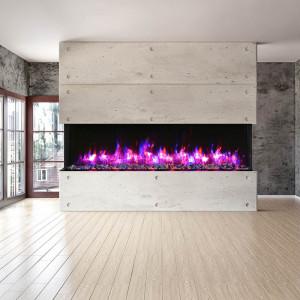 88-TRU-VIEW-XL XT - 3 Sided Electric Fireplace