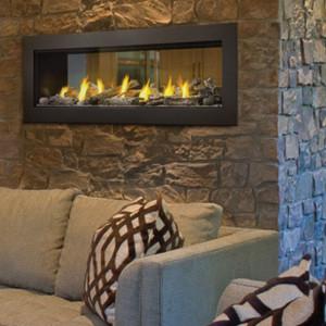 Acies See Thru Series Gas Fireplace