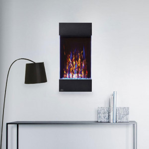 Allure Vertical Electric Fireplace