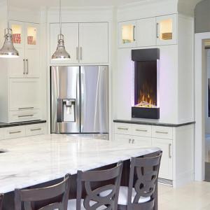 Allure™ Vertical Series Electric Fireplace