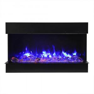 40-TRU-VIEW-SLIM – 3 Sided Electric Fireplace