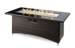 Balsam Montego Linear Gas Fire Pit Table