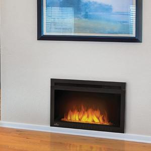 Cinema Glass 27 Electric Fireplace