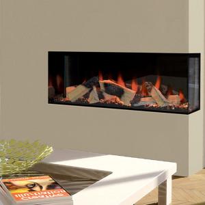 Kiruna Corner Style Electric Fireplace