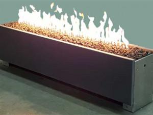 Linear Single Fire Pits