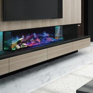 Linnea 3-Sided Electric Fireplace