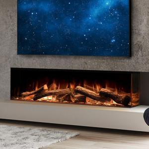 Linnea Corner Style Electric Fireplace