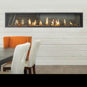 Luxuria See Thru Series Gas Fireplace