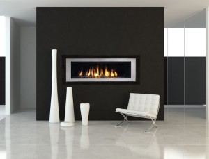 Modern Gas Fireplaces - Linear in San Francisco Bay Area ...