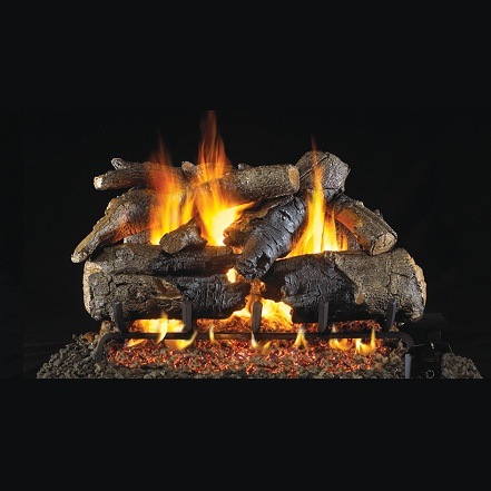 "30"" American Oak (Charred Series) Gas Log"