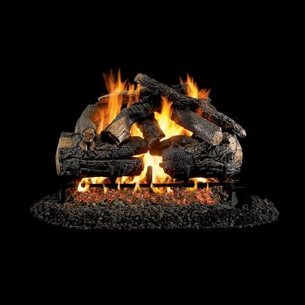 """24"""" Pioneer Oak (Charred Series) Gas Log"""