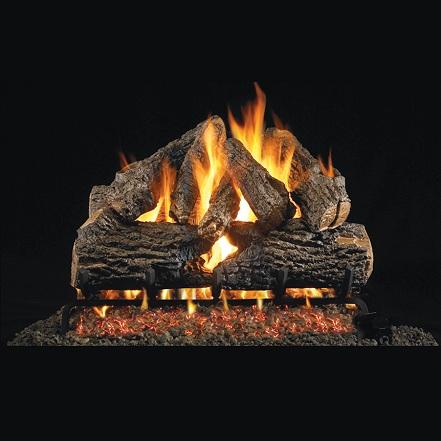 buy 18 20 quot oak charred series gas log san