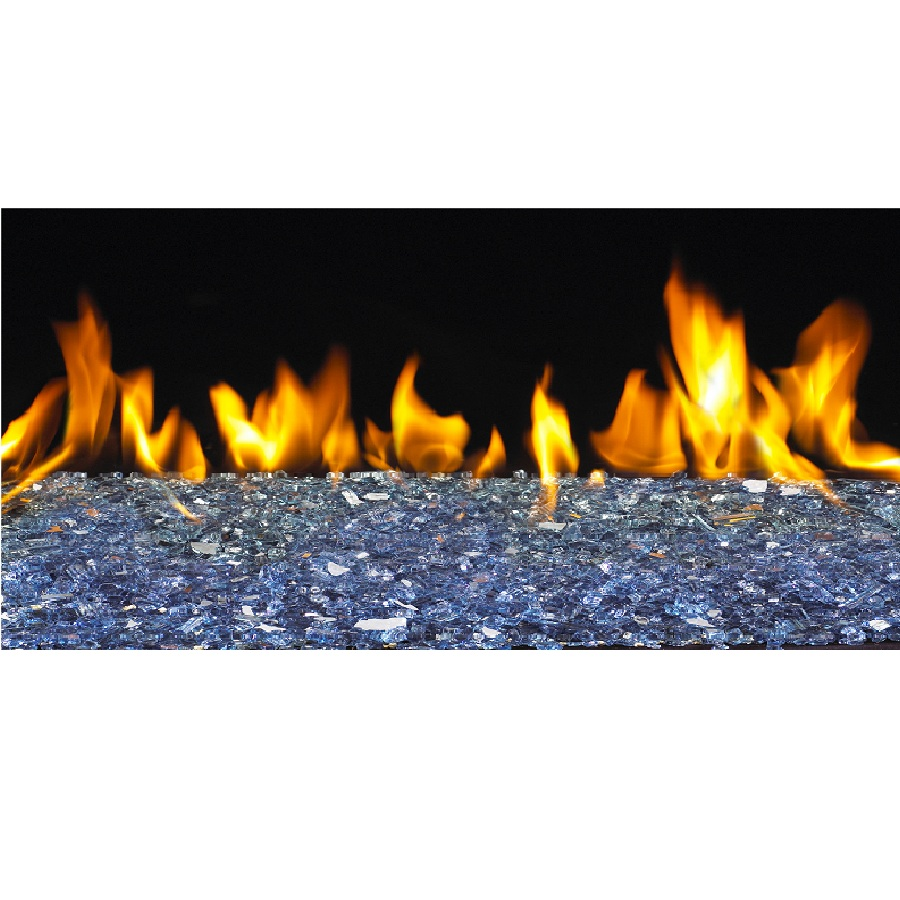 Fireplaces With Glass Rocks Buy Glass Rocks Online Caribbean Blue Fyre Glass San Francisco Bay