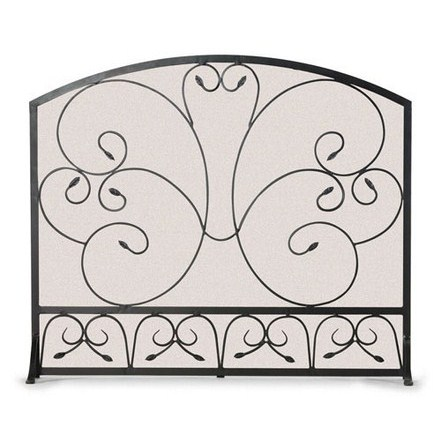 Country Scroll Arch Flat Panel Screen