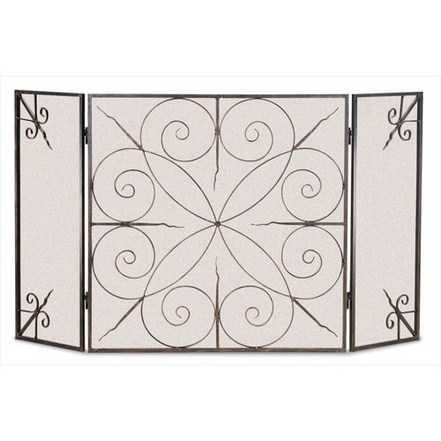 Elements 3 Panel Folding Screen