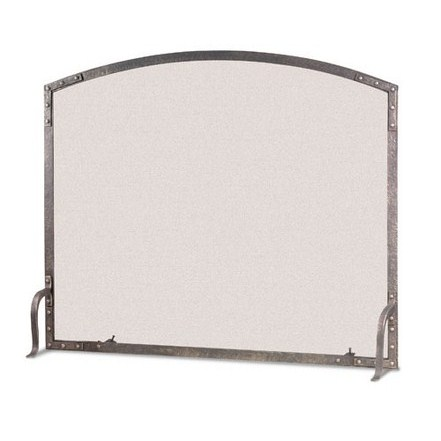 Old World Arched Single Panel Screen
